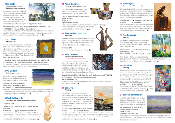 Art Trail brochure 2008 - pages 4 to 6