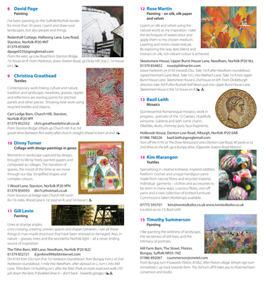 Art Trail brochure 2011 - pages 6 and 7