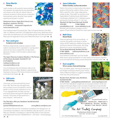 Art Trail brochure 2012 - pages 6 and 7