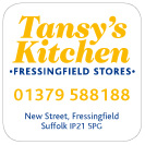 Tansy's Kitchen food packaging label